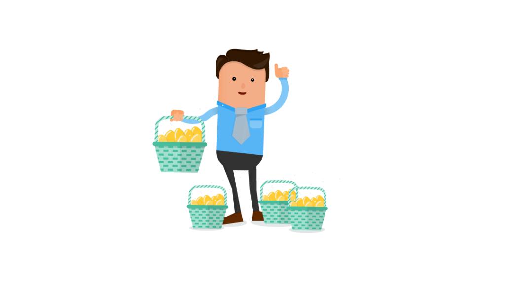 Employee Financial Wellness, eggs in multiple baskets